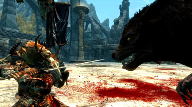 Orc Warrior Vs Werewolf