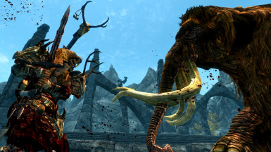 Orc Warrior Vs Mammoth