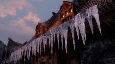 Realistic looking icicle mod