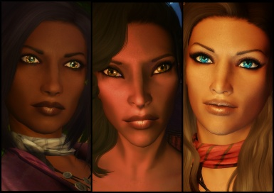 Redguard Women