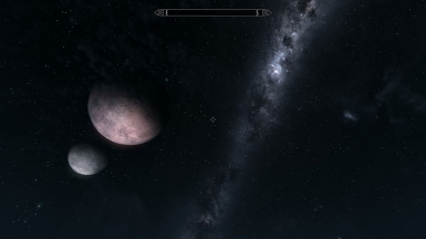 galaxy shot with planets