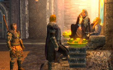 Thrones of Skyrim Ambrosia and Stragon Throne 3