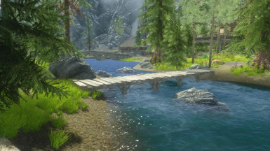 Opethfeldt ENB and Dat Grass and Realistic Water Two ENB