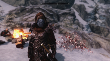Ready for survival in cold Skyrim