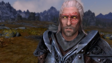 New warpaint for Geralt