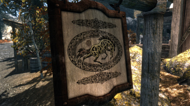 Stables HD Sign