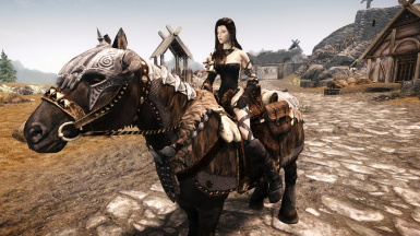 Dark Krystal with Her Horse