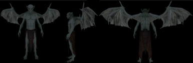 Vampirelord wings bald and armor _0