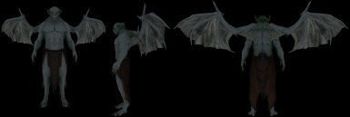 Vampirelord wings bald and armor _1