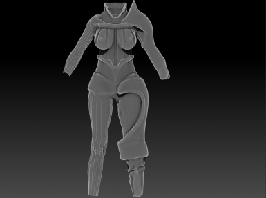 WIP armor of the seven lances