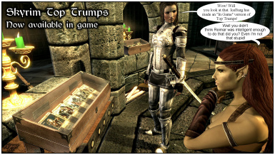 Skyrim Top Trumps - Now available in game