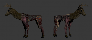 New Real Skinned Animals mod