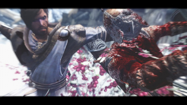 I like skyrim ultra bloody