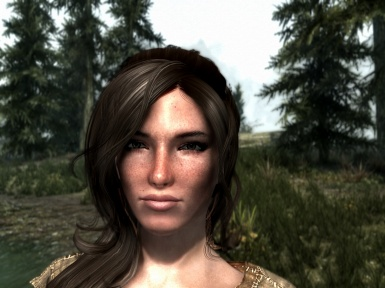 Young female character