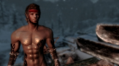 elf male shirtless