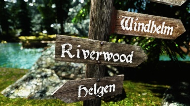 Riverwood to the right