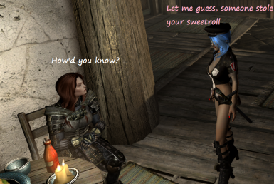 Let me guess - someone stole your sweetroll