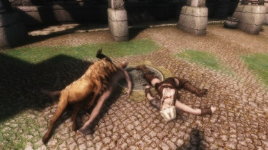 Eli's 4K Manhole cover with with Dead Vilja Heimskr and Goat