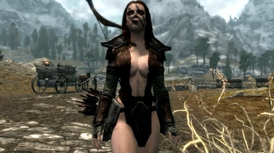 Aela is ready for the hunt