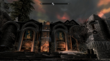 Windhelm by night 1