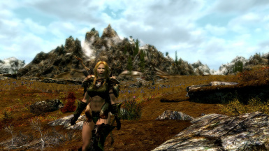 Zena very much the Nord in BPU orcish armor