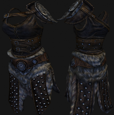 AMB hide and studded hide restored