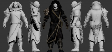 Hunting Grounds Outfit - Male version