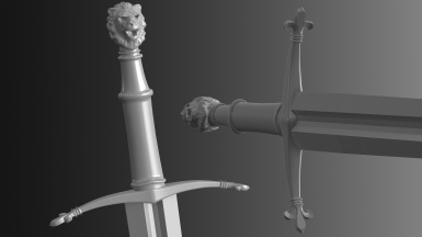 Lily Sword wip