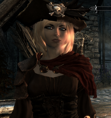 A new face in Skyrim