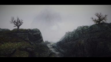 Misty path in the Reach