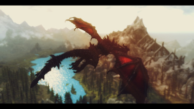Flying with Alduin