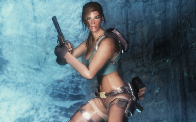 Saturday Night Celebrities - Lara Croft