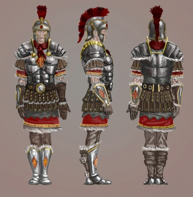 Legat of Skyrim legion concept