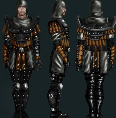Dragon hunter from Gothic 2 concept
