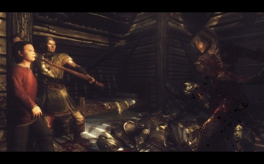 old man fights thalmor