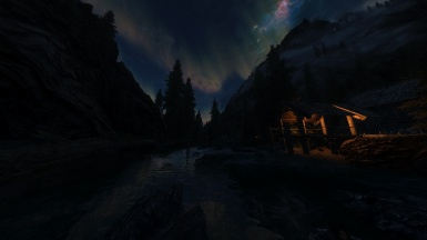 Aurora at Night
