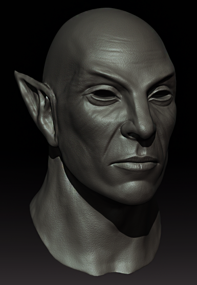Dark Elf Sculpt