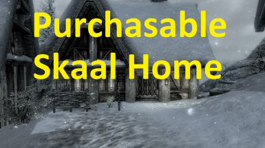 Purchasable Skaal Home
