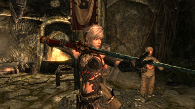 Varla with the greatsword