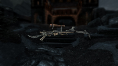 nordic carved crossbow with mods