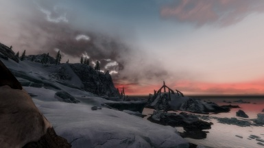 Sky From The Glacier Outside Dawnstar