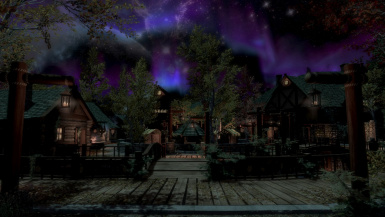 Riften at night