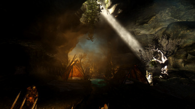 Exploration of cave