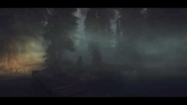 The Grim and Somber ENB Test   Morning fog