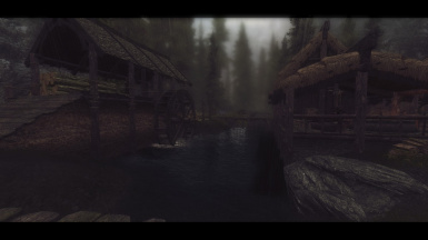 The Grim and Somber ENB Test Riverwood