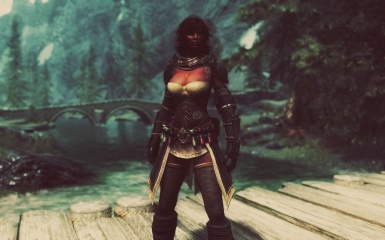 Redguard - Kelindra - Mage Outfit