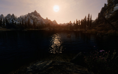 Random Scenic Shot - Sun on the Lake