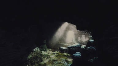 Random Scenic - Inside Bleak Falls Barrow