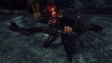 Luna and her Scoped Nightingale Bow