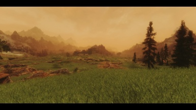 Somber ENB with Grass Field